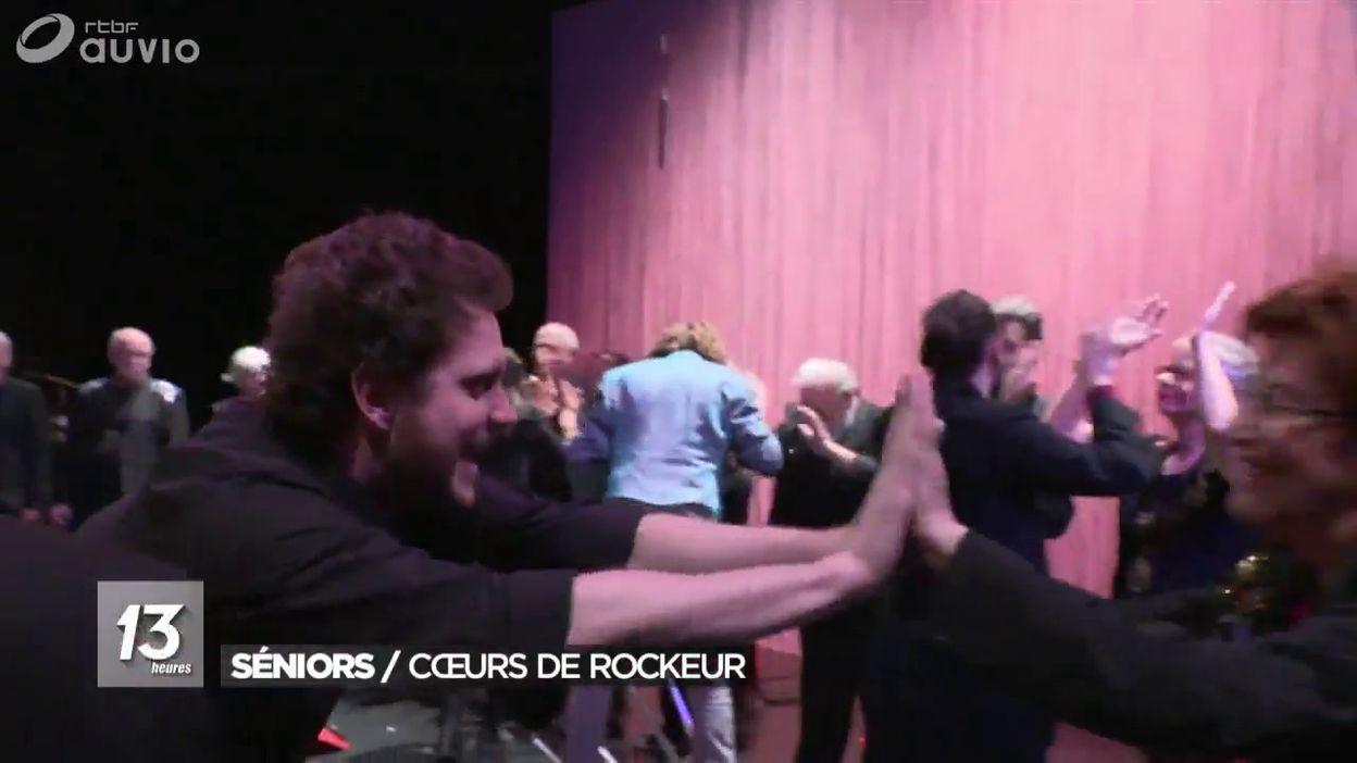 Les papys du rock en spectacle: rocking chairs