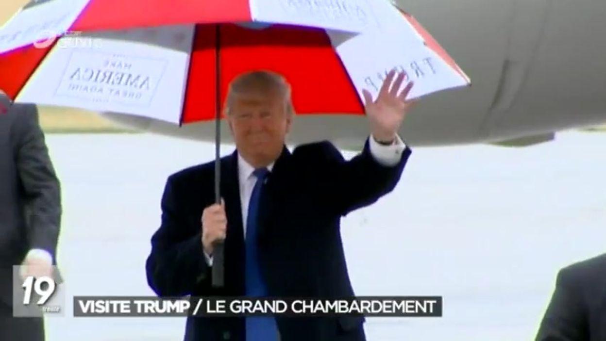 Aspects pratiques de la visite de Donald Trump à Bruxelles