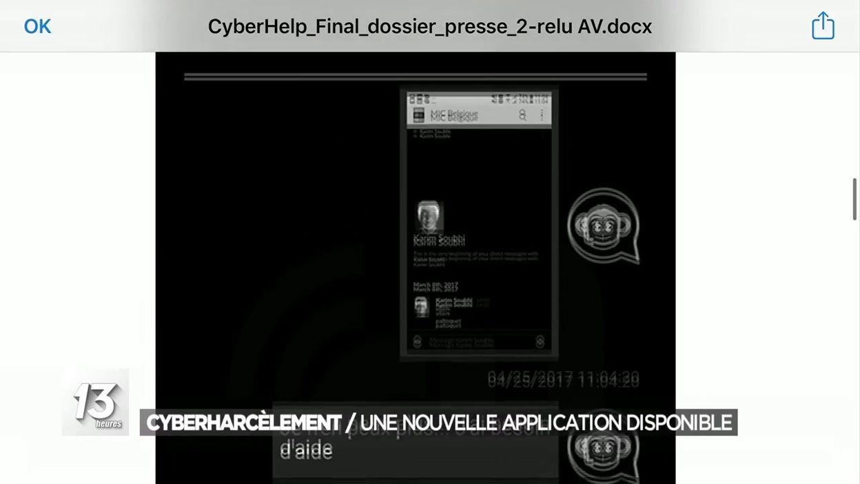 Cyberharcèlement : une nouvelle application