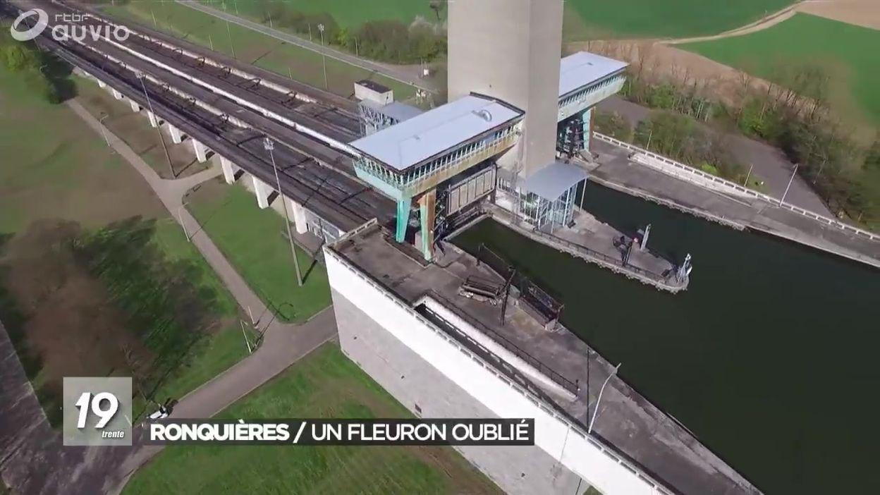 Plan Incline De Ronquieres 50 Ans Et Des Projets