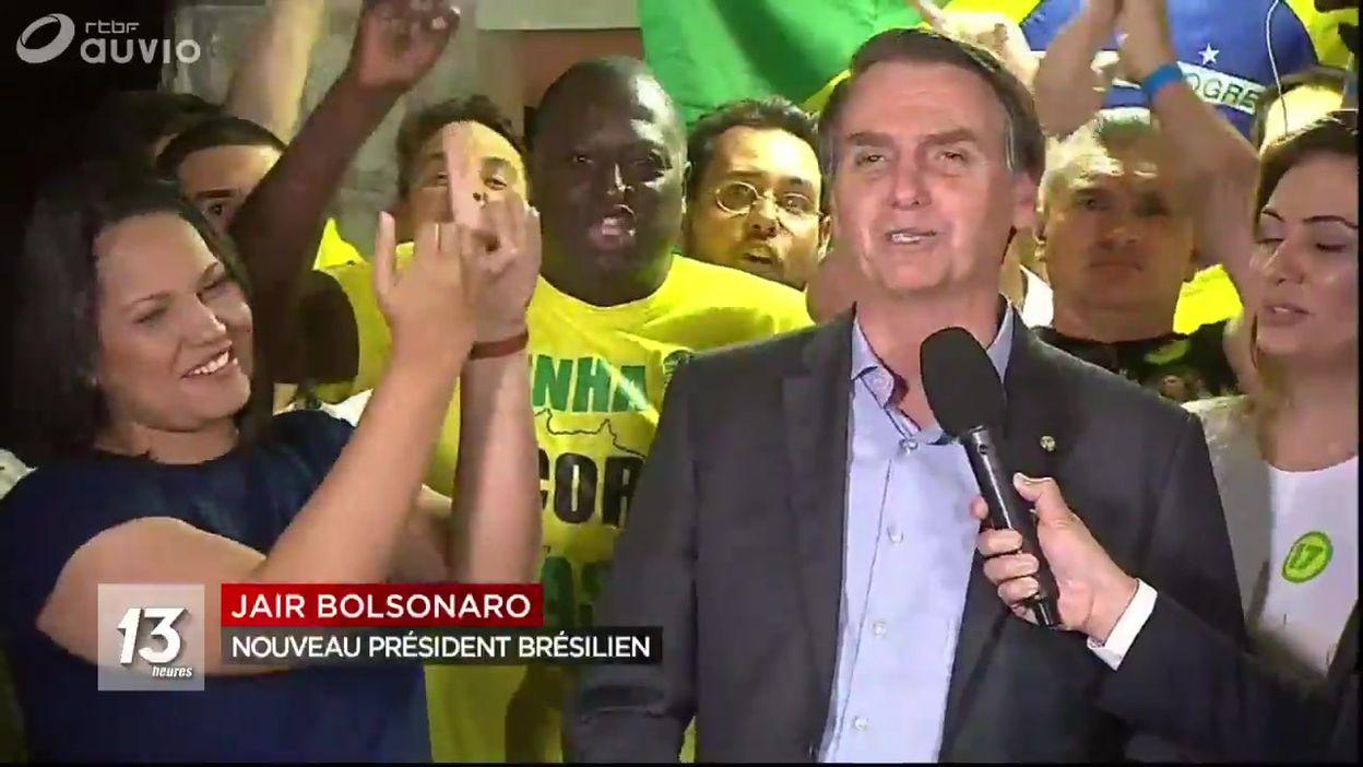 Elections au Brésil : virage à l'extrême droite avec Jair Bolsonaro