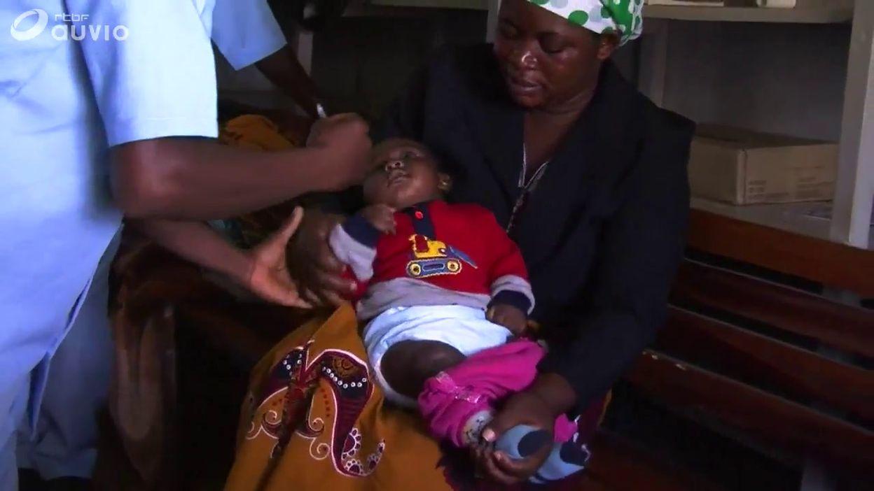 Malawi: test du vaccin à grande échelle contre la malaria sur des enfants à Lilongwe