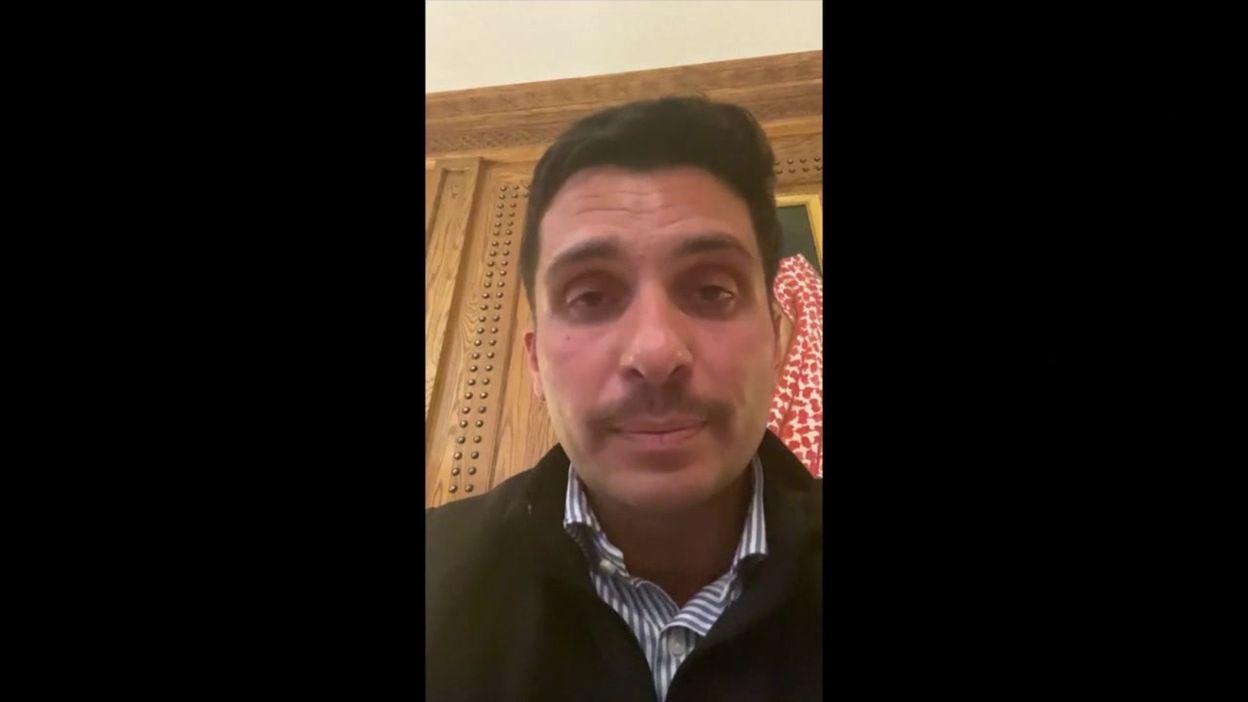 Jordanie: le prince Hamza répond aux accusations