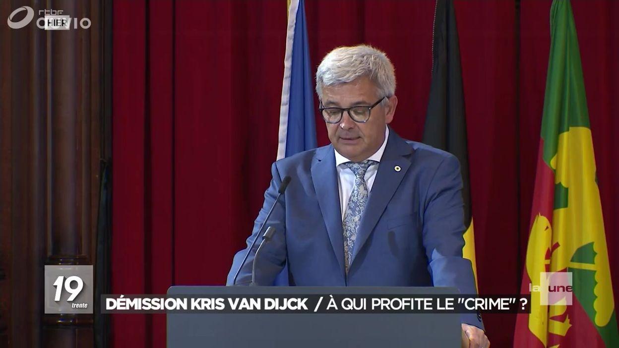 Démission de Kris Van Dijck : à qui profite le crime ?