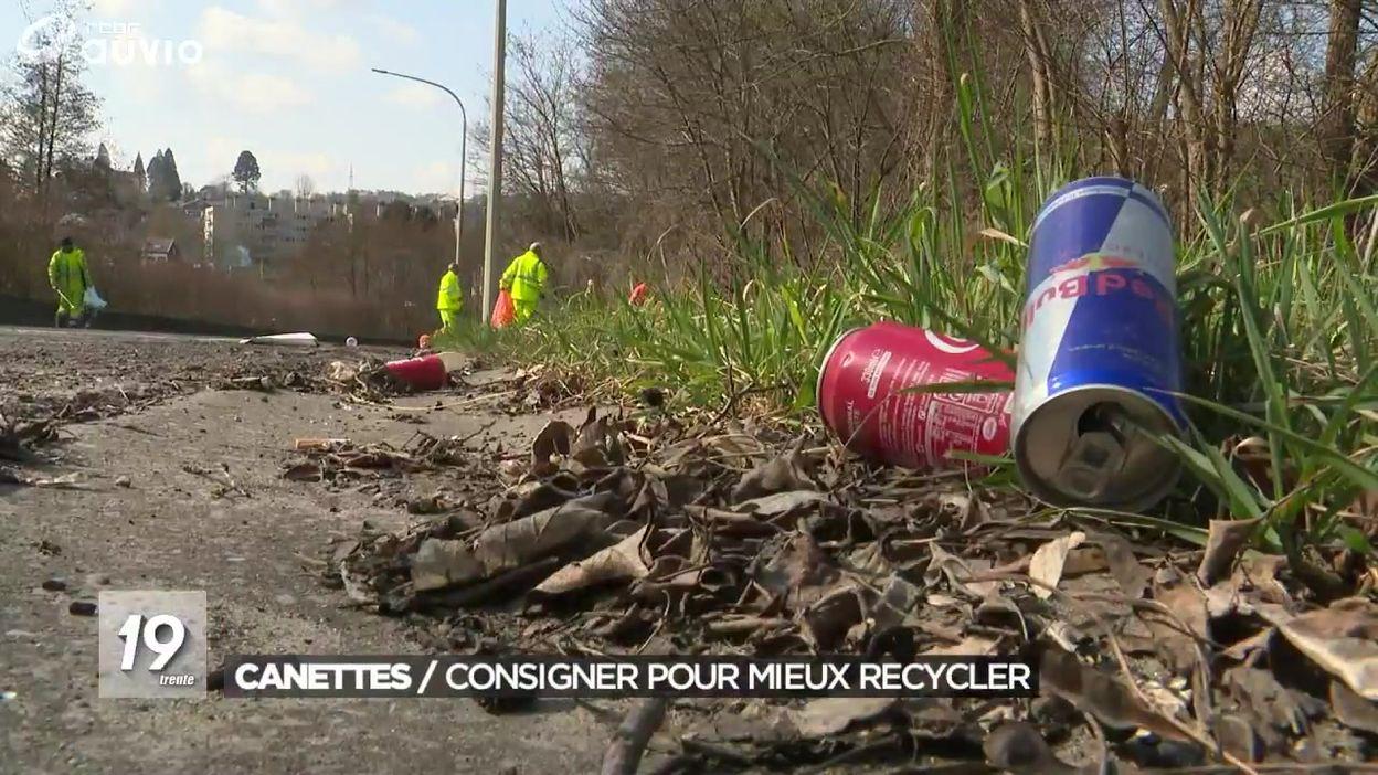 Canettes : consigner pour mieux recycler