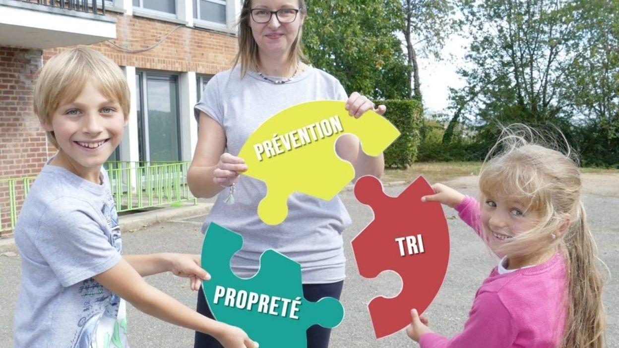 100 écoles wallonnes reçoivent le label « Ecole Plus Propre »