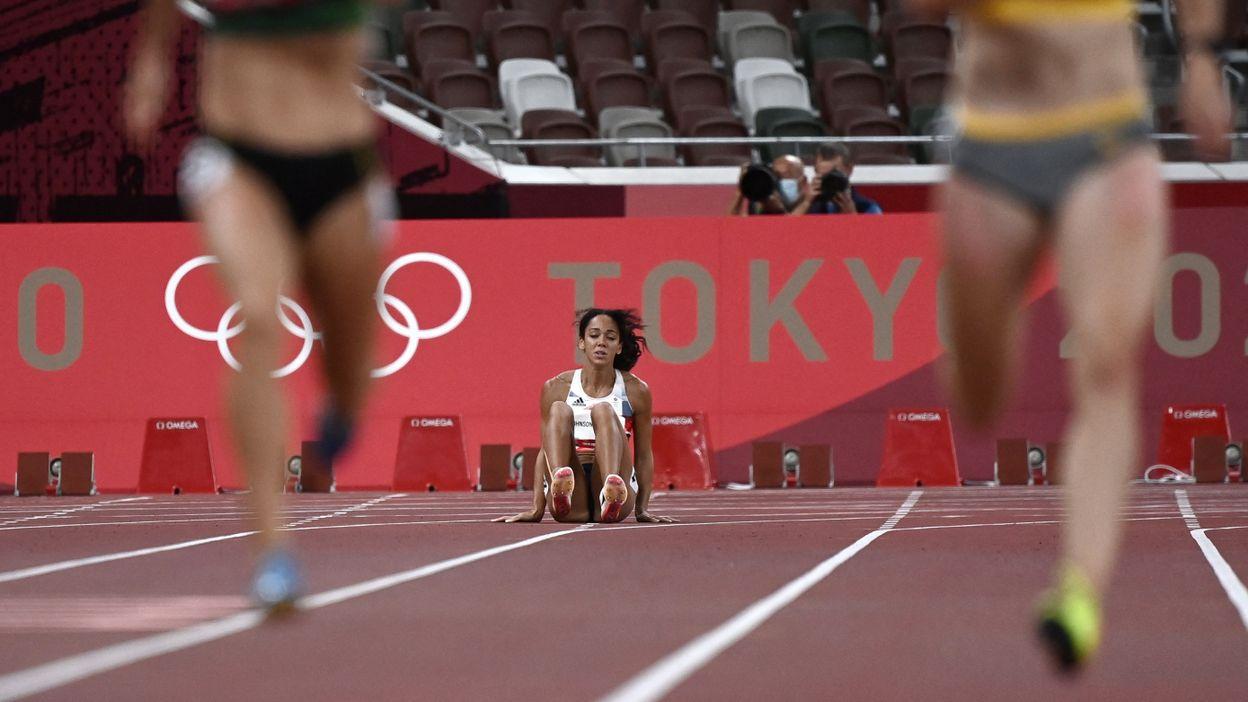 Athlétisme : Katarina Johnson-Thompson abandonne. Noor Vidts, quand à elle, pulvérise son record sur 200m
