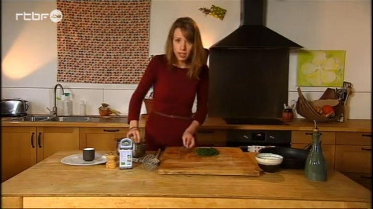 Séquence herboristerie- un burger d'orties
