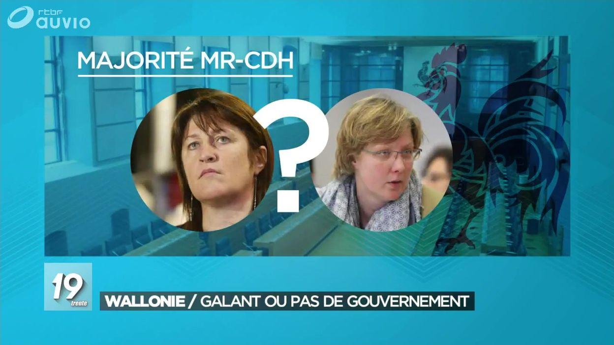 Gouvernement : la nécessaire présence de Jacqueline Galant pour voter