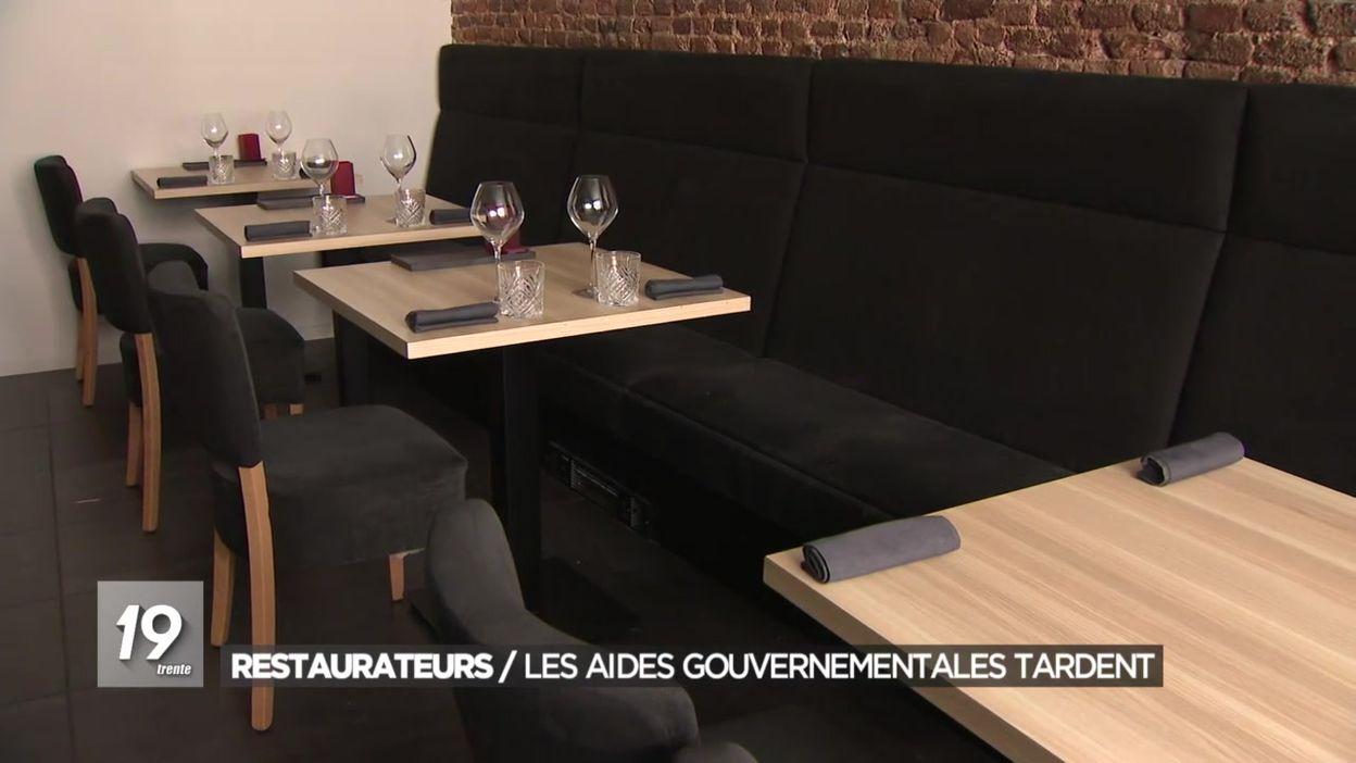 Les restaurateurs attendent leurs aides gouvernementales