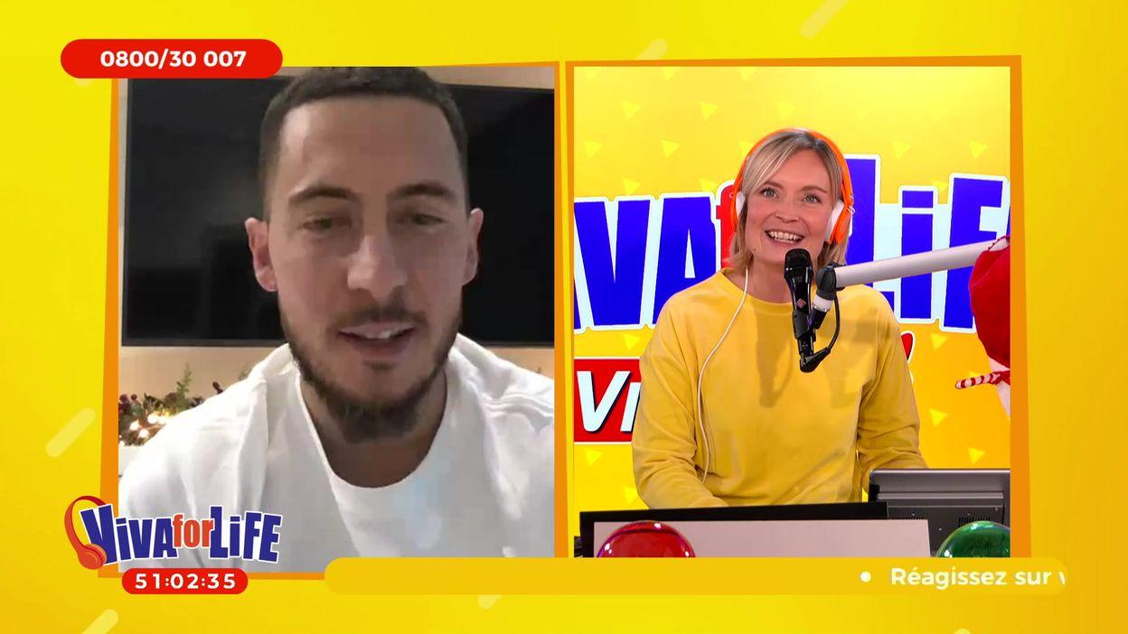 Eden Hazard et Michel Lecomte soutiennent Viva for Life
