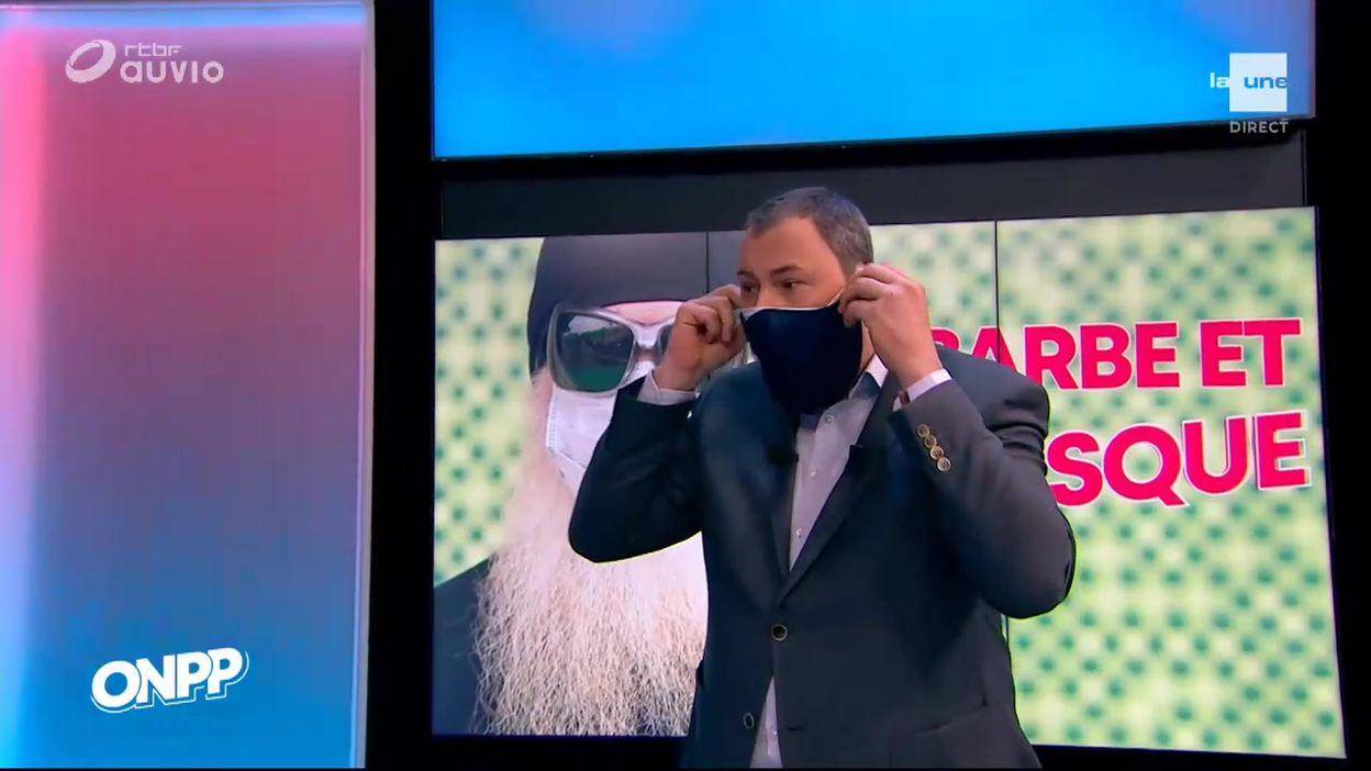 Les masques pour hommes barbus