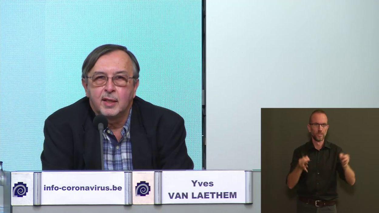 Point presse covid 12/10 : Y a-t-il une forte contagion dans les clubs sportifs? (Y. Van Laethem)