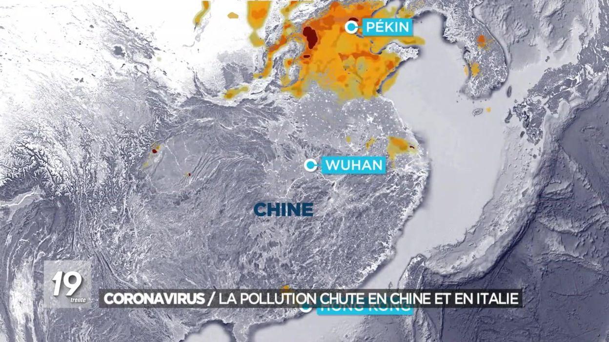 Coronavirus : la pollution chute en Chine et en Italie