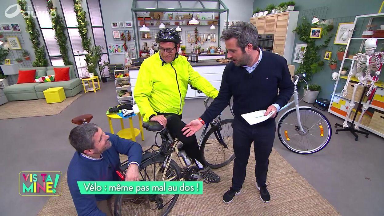 Faire du vélo sans douleurs