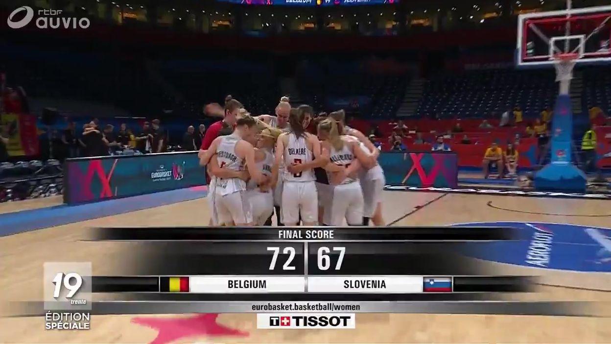 Basket : les Belgian Cats en quarts de finale