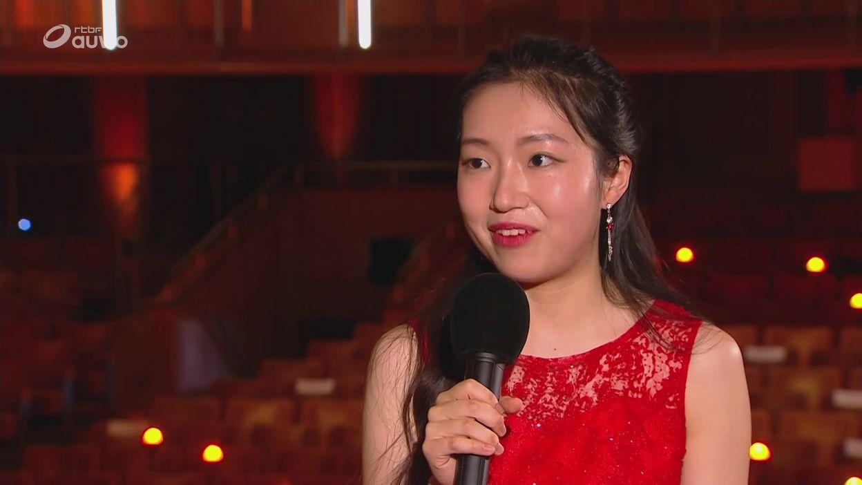 L'interview bord de scène de Su Yeon Kim, demi-finaliste