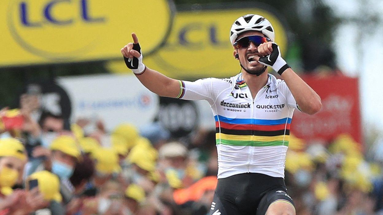 1er étape, le résumé : Brest > Landerneau : Victoire de Julian Alaphilippe