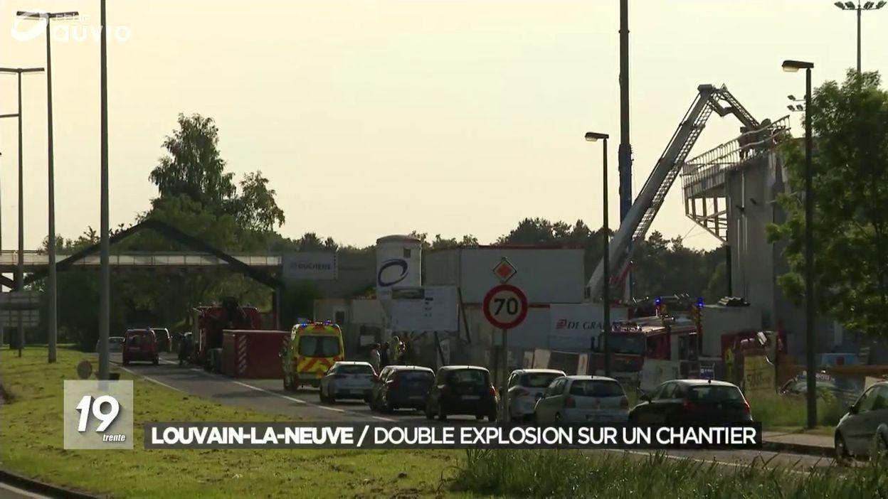 Explosions Et Incenau Blocry