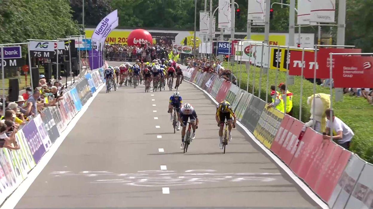 Cyclisme :  Retour gagnant pour Van Aert, sacré champion de Belgique après une lutte somptueuse avec Theuns et Evenepoel !