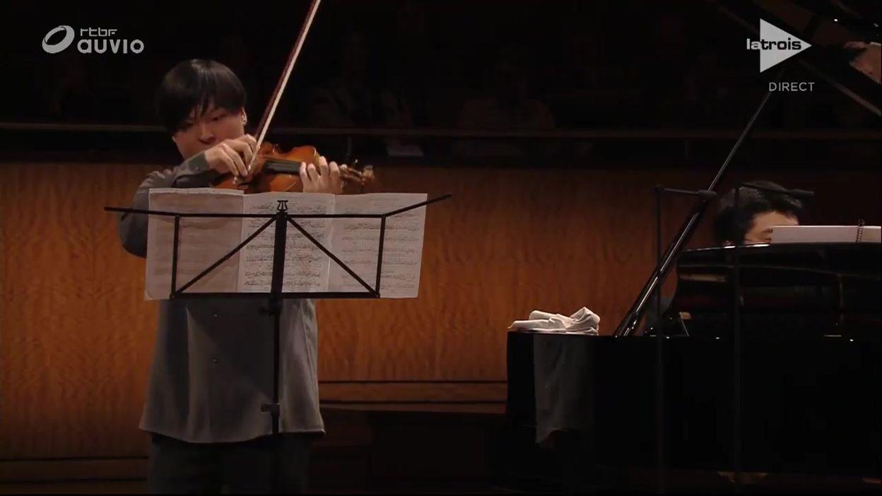 Queen Elisabeth -  Luke Hsu - Récital