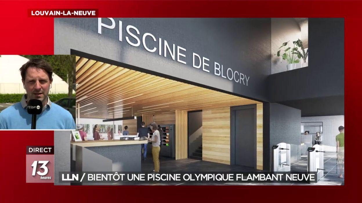 LLN : Bientôt une piscine olympique flambant neuve