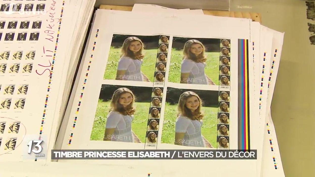 Un timbre à l'effigie de la princesse Elisabeth pour ses 18 ans