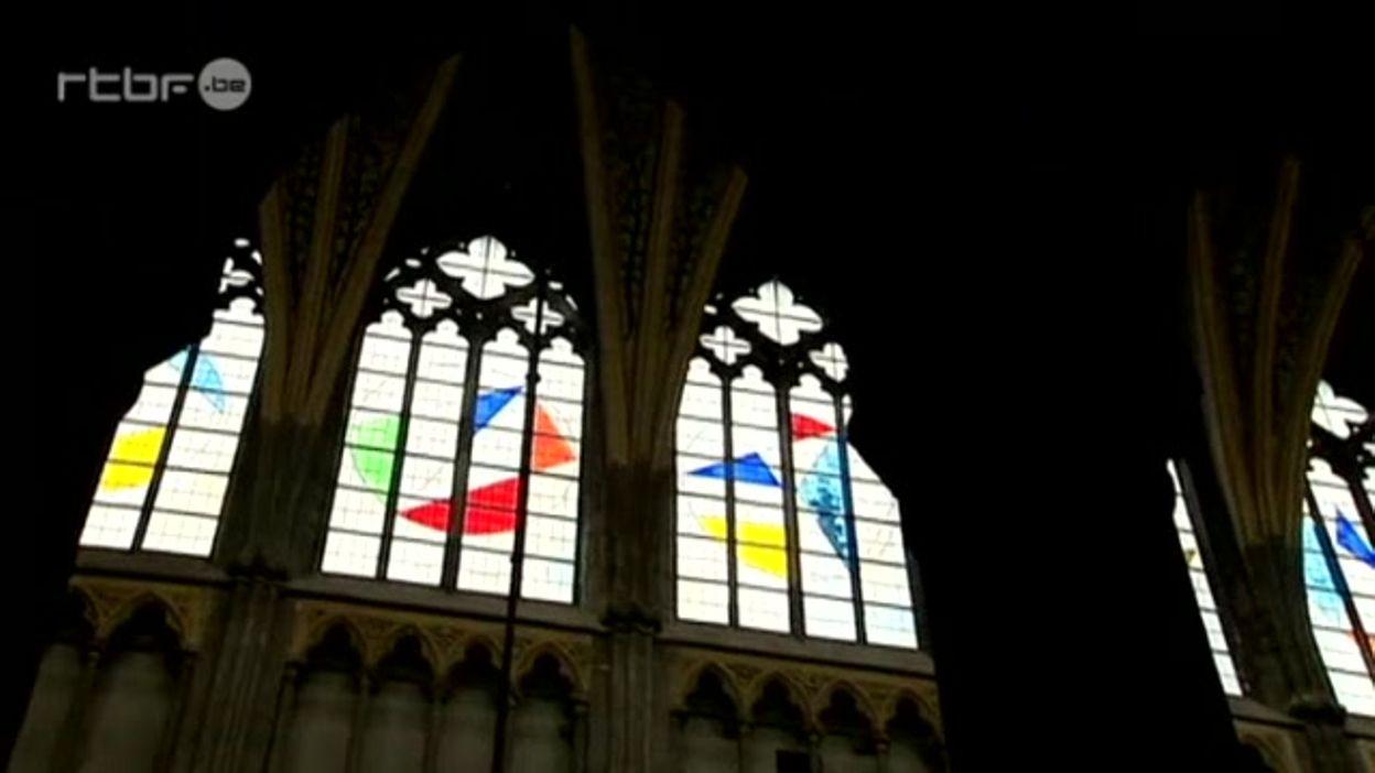 Des nouveaux vitraux pour la cathédrale Saint-Paul de Liège