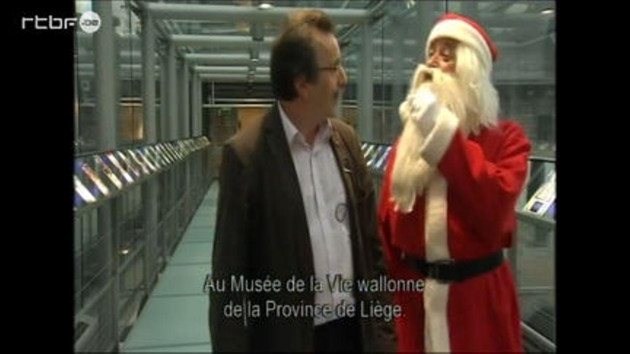 Suivez le Père Noël en Wallon