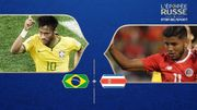 Brésil - Costa Rica : Groupe E