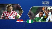 Croatie - Nigéria : Groupe D