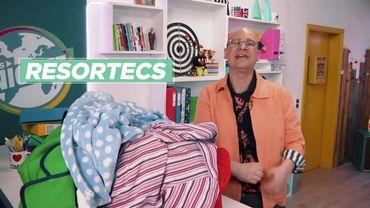 Vêtements recyclés : le fil magique qui se dissout à la...