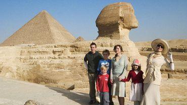 Les enfants de ma soeur en Egypte