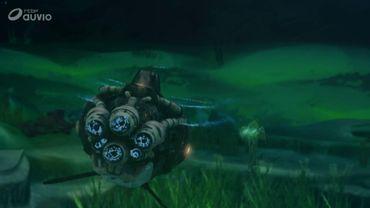 Sous les mers