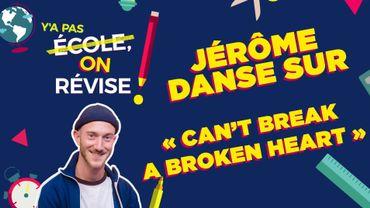 "Jérôme danse sur ""Can't Break a Broken Heart"""