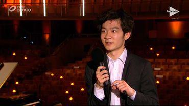 L'interview bord de scène de Xiaolu Zang