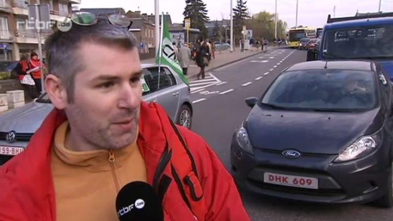 Une partie des conducteurs exaspérée par les actions des syndicats en  Hainaut - 25/04/2013