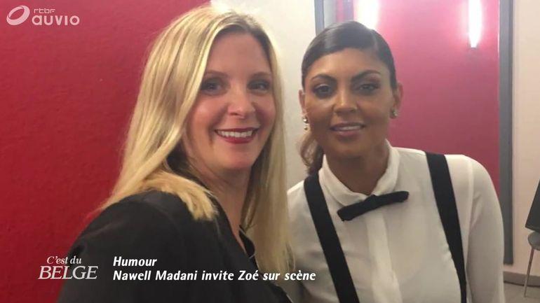 nawell-madani-invite-zoe-sur-scene