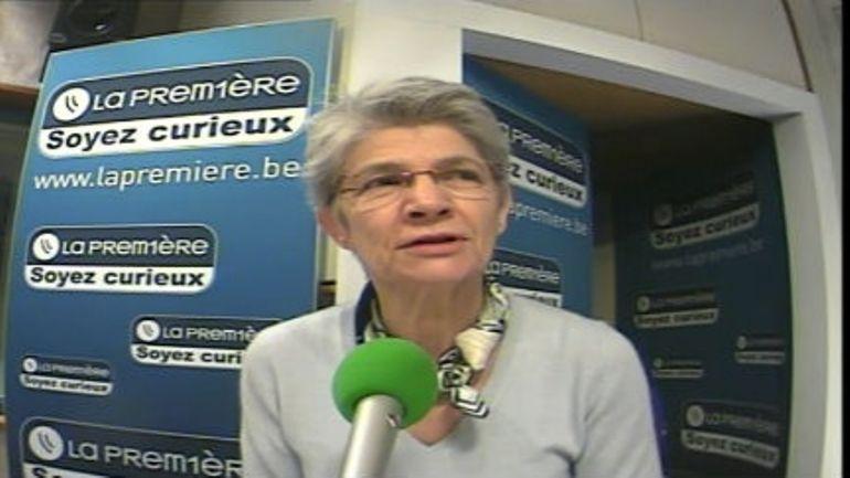 Bernadette Ségol dans Matin Première - B Henne - 14/11/2012