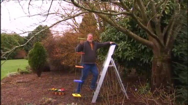 Les bricolages de luc fabrication d 39 une suspension for Jardin et loisir