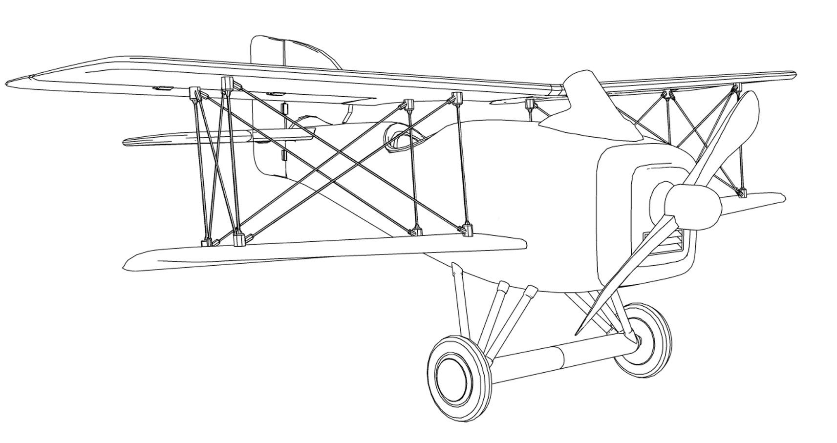 Bien-aimé L'avion du Petit Prince - OUFtivi LC17