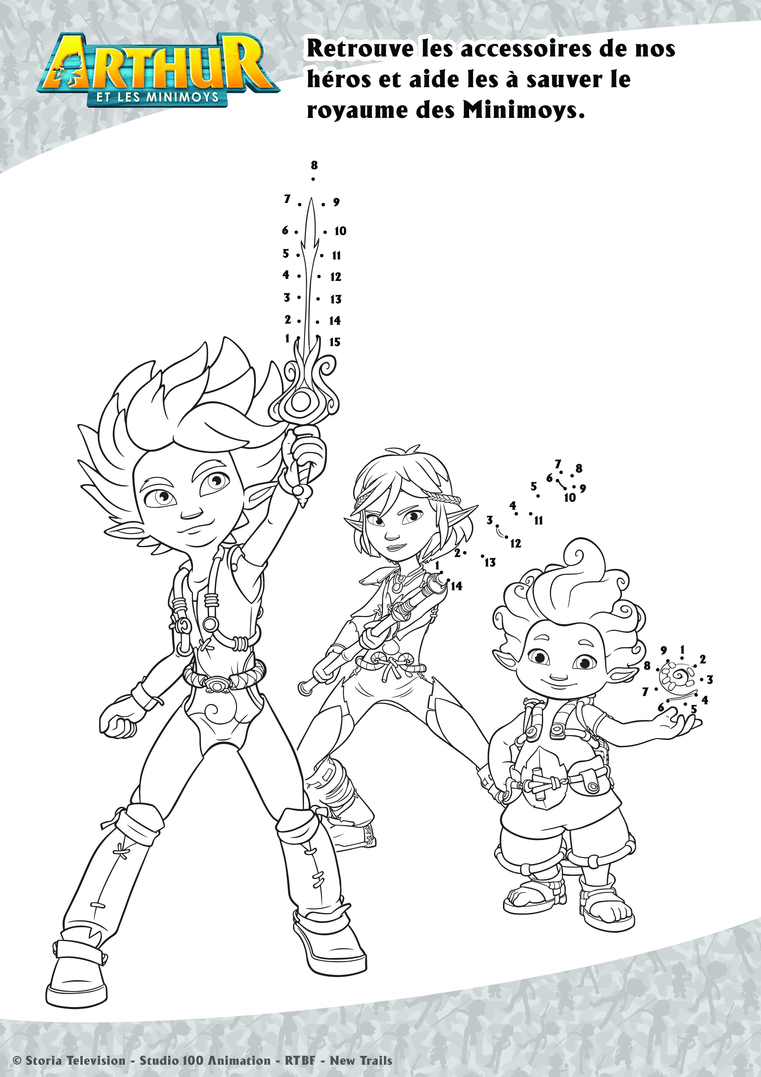 Arthur et les Minimoys - accessoires