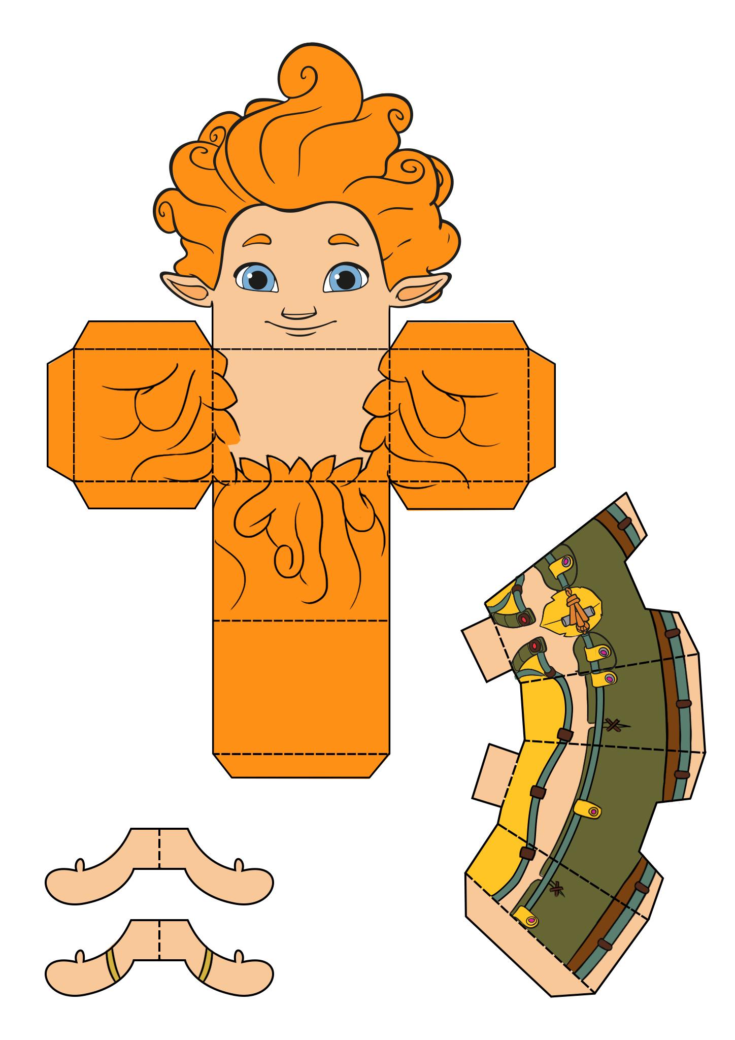 Arthur et les Minimoys - pliage papier