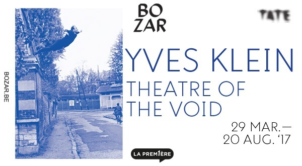 Visitez l'expo Yves Klein à Bozar !