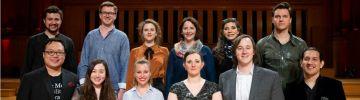 Les 12 finalistes du Concours Reine Elisabeth 2018 chant