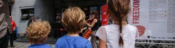Les kids au Festival