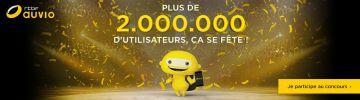 Plus de 2 millions d'utilisateurs, ça se fête!