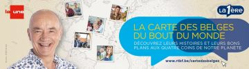 La Carte des Belges du Bout du Monde
