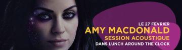 Amy MacDonald en session acoustique!