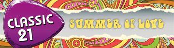 Le 'Summer of Love', la thématique de l'été sur Classic 21